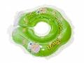 Colac de inot bebe Clasic Baby Swimmer, Verde transparent