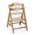 Scaun masa din lemn Alpha Plus Hauck, Natural