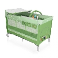 Patut pliabil Dream 120 x 60 cm Baby Design, Green