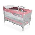 Patut pliabil Dream 120 x 60 cm Baby Design, Pink