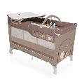 Patut pliabil Dream 120 x 60 cm Baby Design, Beige