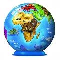 Puzzle 3D Globul Pamantesc 72 Piese Ravensburger,
