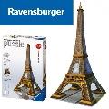 Puzzle 3D Turnul Eiffel 216 Piese Ravensburger,