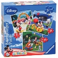 Puzzle Clubul Mickey Mouse 25 / 36 / 49 Piese Ravensburger,