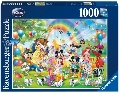 Puzzle Ziua de nastere a lui Mickey 1000 Piese Ravensburger,