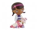 Figurina Doctorita Plusica Bullyland, Doc McStuffins cu Lambie