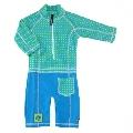 Costum de baie Baby Fish cu protectie UV Swimpy, 74 - 80