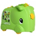 Valiza Ride-on Elephant 3 in 1 Molto, Verde