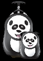 Set Valiza tip trolley si ghiozdan Cutie and Pals, Cheri the Panda