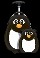 Set Valiza tip trolley si ghiozdan Cutie and Pals, Peko the Penguin