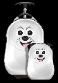 Set Valiza tip trolley si ghiozdan Cutie and Pals, Cubbi the Seal