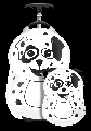 Set Valiza tip trolley si ghiozdan Cutie and Pals, Pupster the Dalmatian