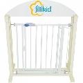 Bariera-poarta usa-scari alba cu autoblocare Fillikid,