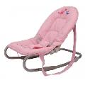 Sezlong Babywippen BabyGo, Pink