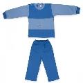 Costum 18-24 luni model 21 catifea Pifou, B01 Albastru