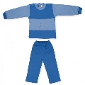 Costum 3 ani model 21 catifea Pifou, B01 Albastru