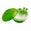 Set farfurie termica cu ventuza si tacamuri dBb Remond, Verde