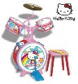 Set tobe baterie Hello Kitty Reig Musicales,