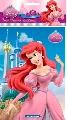 Plansa pictura nisip mica Disney, Ariel