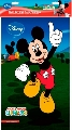 Plansa pictura nisip mare Disney, Mickey cu Degetul ridicat
