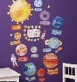 Sticker Decorativ pentru camere copii Solar System Wallies,