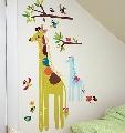 Sticker Centimetru Giraffe Wallies,