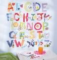 Sticker Decorativ pentru camere copii Alphabet Fun Wallies,