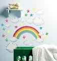 Sticker Decorativ pentru copii si bebelusi Rainbow Wallies,