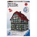 Puzzle 3D Casa Medievala 216 piese Ravensburger,