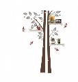 Sticker de perete Copac cu rafturi Maxtar,