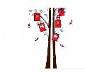 Sticker de perete Copac cu rame foto Maxtar,