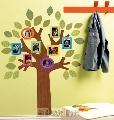 Sticker decorativ pentru camera copii si living Fun Family Tree Wallies,