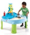 Masuta de joaca cu apa si nisip Splash N Scoop Bay Step 2,