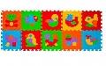 Puzzle animalute covoras din spuma 10 buc BabyOno,