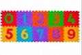 Puzzle Cifre covoras din spuma 10 buc BabyOno,