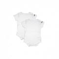 Set Body Waterproof alb Dribble Stop, 3-6 luni