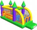 Saltea gonflabila profesionala Castel cu obstacole Happy Hop,