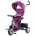 Tricicleta cu copertina si sezut reversibil Twister Chipolino, Purple
