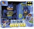Papusa Gusy Luz cu rucsac Molto, Batman