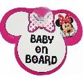 Semn de avertizare Baby on Board Disney Eurasia, Minnie