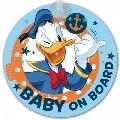 Semn de avertizare Baby on Board Disney Eurasia, Donald