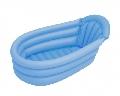 Cadita de baie gonflabila KioKids, Bleu