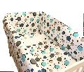 Aparatori laterale pentru pat Maxi 120 x 60 cm Deseda, Cerculete Albastre