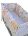 Aparatori laterale pentru pat Maxi 120 x 60 cm Deseda, Zoo Bej