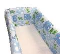 Aparatori laterale pentru pat Maxi 120 x 60 cm Deseda, Broscute Albastru