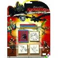 Set 3 stampile Disney Multiprint, Cum sa iti dresezi dragonul