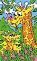 Desen pe Numere Mammut, Girafa