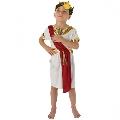 Costum de carnaval Baietel Roman Rubies, L (7-8 ani/max 128cm)