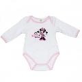 Body Minnie roz deschis 8190 Disney, 2 ani (92 cm)