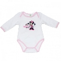 Body Minnie roz deschis 8190 Disney, 3 luni (62 cm)